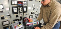 Electrical Test Equipment Power Station To Plug Megger