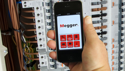 Calculating cable size is a bit of a pain cable calc app from megger greentooth Choice Image