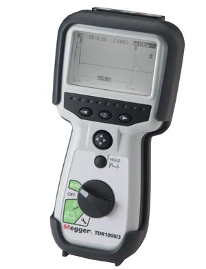 TDR1000/3 time domain reflectometer