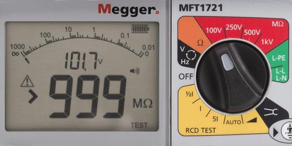 MFt1721 multifunction installation tester