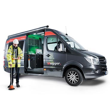 Centrix Cable Test Van System available in 1 and 3-phased versions