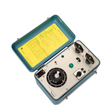 Portable Hochstromprüfeinrichtungen