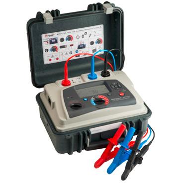 15 kV diagnostic insulation resistance tester