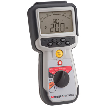 CAT IV Insulation testers