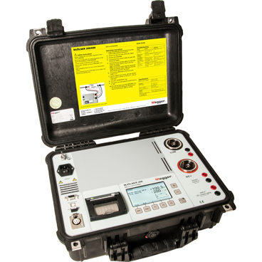 600 A micro-ohmmeter with DualGround safety