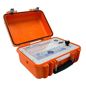 Portable reflectometer for power cables